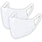 2枚入り 爽快マスク Lサイズ 男性普通サイズ ホワイト COOL MASK 洗えるマスク AC-MASK001L2-WH