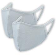 2枚入り 爽快マスク Mサイズ 子供用(小学校高学年/女性向け) ライトグレー COOL MASK 洗えるマスク AC-MASK001M2-GY