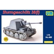 UU72488 独・38 t 突撃砲・マーダーIII 試作型 [1/72スケール プラモデル]