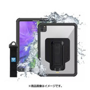 Waterproof Protective Case With New Adaptor And Hand Strap for iPad Pro 11(2th) Black [iPad Pro 11インチ 用 防水ケース]