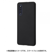 RT-GA41BS3/B [Galaxy A41 用 耐衝撃マットハイブリッドケース BABY SKIN ブラック]