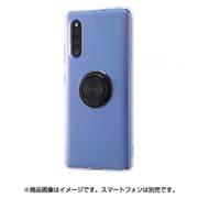 IN-GA41TC30/BM [Galaxy A41 用 TPUソフトケース リング付 ブラック]
