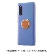 IN-GA41TC30/BZM [Galaxy A41 用 TPUソフトケース リング付 ブロンズ]