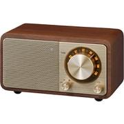 WR-301 Walnut [FMラジオ・Bluetoothスピーカー ウォールナット]
