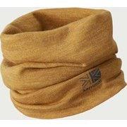 ウール ネックウォーマー wool neck warmer 100778 Camel [スポーツウェアアクセサリ ネックカバー]