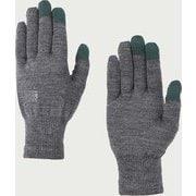 ウール ロゴ グローブ wool logo glove 101166 H.Grey Mサイズ [アウトドア グローブ]