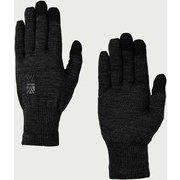 ウール ロゴ グローブ wool logo glove 101166 Black Mサイズ [アウトドア グローブ]