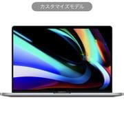 MacBook Pro Touch Bar 16インチ 2.4GHz 8コアIntel Core i9プロセッサ SSD1TB メモリ16GB 英語(US)キーボード カスタマイズモデル(CTO) スペースグレイ [Z0Y0007B4]