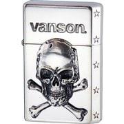 vanson×GEAR TOP クロスボーンスカル V-GT-03 シルバー [ライター]