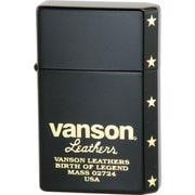 vanson×GEAR TOP ロゴデザイン V-GT-06 ブラック [ライター]