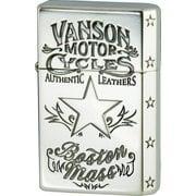 vanson×GEAR TOP スターデザイン V-GT-07 シルバー [ライター]