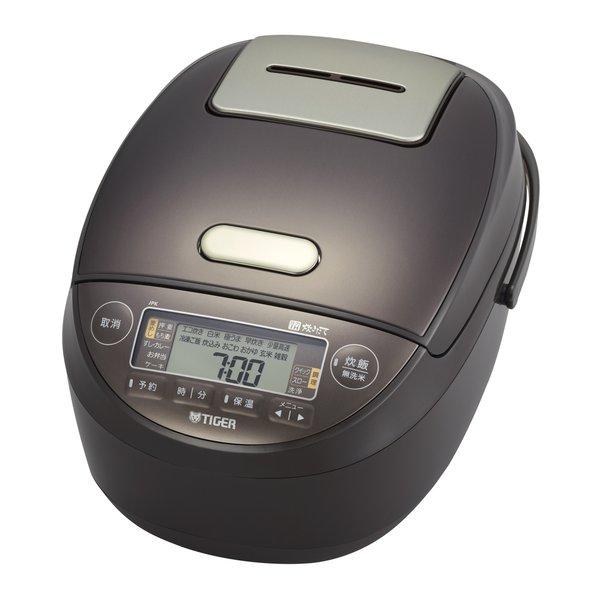 JPK-G100 T [圧力IHジャー炊飯器 炊きたて 5.5合炊き ブラウン]