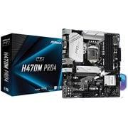 H470M Pro4 [ASRock Intel H470チップセット搭載 Micro ATXマザーボード]