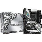 B550 Steel Legend [ASRock AMD  Ryzen 3000シリーズ (Soket AM4)対応  B550チップセット搭載 ATX マザーボード]