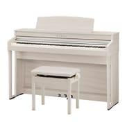 CA49A [木製鍵盤搭載デジタルピアノ プレミアムホワイトメープル調仕上げ]