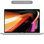 MacBook Pro Touch Bar 16インチ 2.6GHz 6コアIntel Core i7プロセッサ SSD1TB メモリ16GB 英語(US)キーボード カスタマイズモデル(CTO) シルバー [Z0Y1002RC]