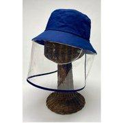 飛沫対策ガード帽子(ジュニア用) ネイビー