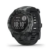 010‐02293‐51 [GPSアウトドアスマートウォッチ Instinct Dual Power Camo Edition Graphite Camo]