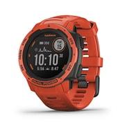 010‐02293‐70 [GPSアウトドアスマートウォッチ Instinct Dual Power Flame Red]