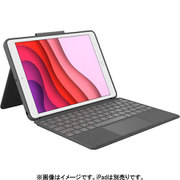 iK1057BKA [ロジクール COMBO TOUCH for iPad (第7世代用) トラックパッド付キーボードケース グラファイト]