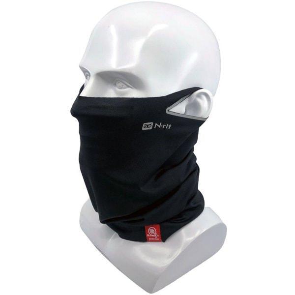 ネックゲイター&フェイスマスク 190ブラック チューブナイン クールX EL Dr.Bacty 1610276 [スポーツウェアアクセサリ ネックゲイター フェイスマスク]