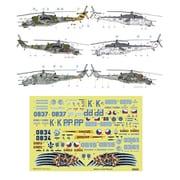 EDUD48054 Mi-24V/Mi-35 チェコ空軍仕様 ズべズダ用 [1/48スケール エアクラフト用デカール]