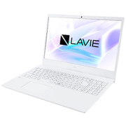 PC-N1510AAW [LAVIE N15 快適スタンダードノートPC 15.6型/Athlon Silver 3050U/メモリ 4GB/HDD 500GB/Windows 10 Home 64bit/Microsoft Office Home & Business 2019/ホワイト]