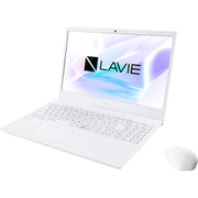 PC-N1565AAW-YC [LAVIE N15 ノートパソコン 15.6型/Ryzen 7 4700U/メモリ 8GB/SSD 512GB/Windows 10 Home 64bit/Microsoft Office Home & Business 2019/ホワイト/ヨドバシカメラオリジナル SSD増量モデル]