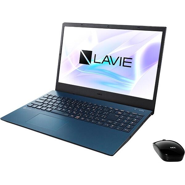 PC-N1555AAL-YC [LAVIE N15 ノートパソコン 15.6型/Ryzen 5 4500U/メモリ 8GB/SSD 256GB/Windows 10 Home 64bit/Microsoft Office Home & Business 2019/ブルー/ヨドバシカメラオリジナル メモリ増量モデル]