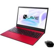 PC-N1535AAR-YC [LAVIE N15 ノートパソコン 15.6型/Ryzen 3 3250U/メモリ 8GB/SSD 256GB/Windows 10 Home 64bit/Microsoft Office Home & Business 2019/レッド/ヨドバシカメラオリジナル メモリ増量モデル]