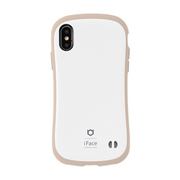 iFace First Class Cafe シリーズ iPhone Xs / iPhone X 用 ケース ミルク [iPhoneケース]