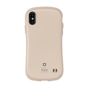 iFace First Class Cafe シリーズ iPhone Xs / iPhone X 用 ケース カフェラテ [iPhoneケース]