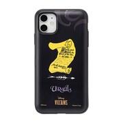 ディズニー iPhone 11 / iPhone XR 用 ミラーカードケース ヴィランズ/アースラ [キャラクターグッズ]