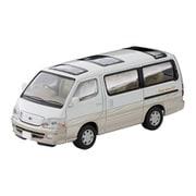 LV-N216a 1/64 トヨタ ハイエース ワゴン リビングサルーン EX 2002年式 白/ベージュ [ダイキャストミニカー]