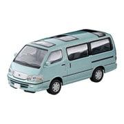 LV-N216b 1/64 トヨタ ハイエース ワゴン スーパーカスタムG 2002年式 薄緑 [ダイキャストミニカー]