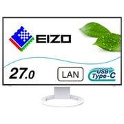 EV2795-WT [FlexScan 27.0型 2560×1440 フレームレスモニター アンチグレアIPSパネル搭載 疲れ目軽減 ホワイト]