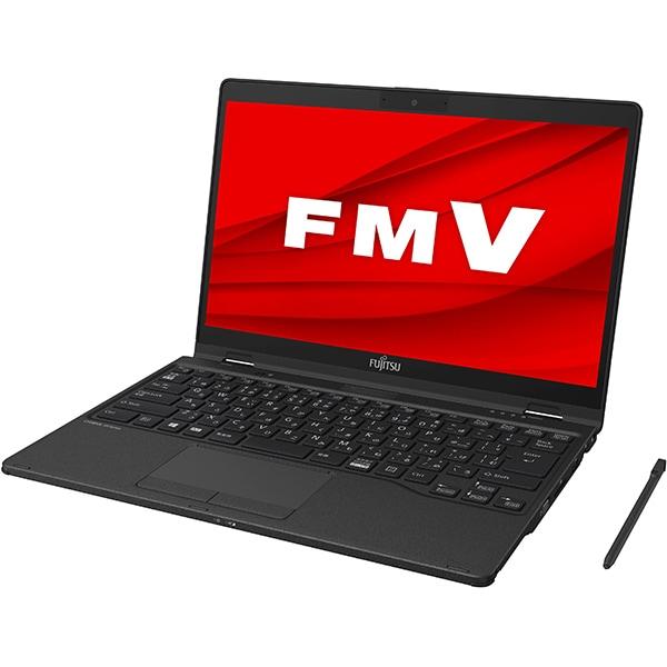FMVU95E2B [ノートパソコン LIFEBOOK UHシリーズ/13.3型ワイド/Corei7-10510U/メモリ 8GB/SSD 512GB/ドライブレス/Windows 10 Home 64ビット/Office Home and Business 2019/タッチ対応/ピクトブラック]