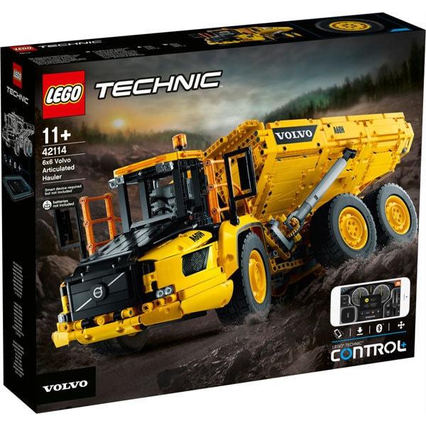 42114 レゴ テクニック 6x6 ボルボ アーティキュレート ダンプトラック [ブロック玩具]