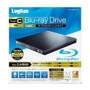 LBD-PVA6U3CVBK [ブルーレイドライブ Suface(サーフェス)対応 USB3.2 Gen1(USB3.0) スリム 再生&編集ソフト付 UHDBD対応 Type-Cケーブル付属 ブラック]