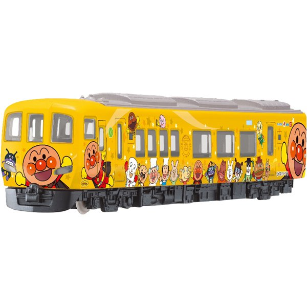 DK-7132 ダイヤペット 土讃線きいろいアンパンマン列車 [対象年齢:3歳~]