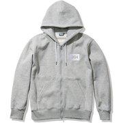 HHロゴフルジップスウェットフーディー HH Logo Full-zip Sweat Hoodie HE32060 ミックスグレー(Z) XLサイズ [アウトドア スウェット メンズ]