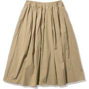 スカイリムスカート W Skyrim Skirt HOW22068 タン(TN) WSサイズ [アウトドア スカート レディース]