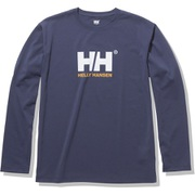 ロングスリーブロゴティー L/S Logo Tee HOE32050 ヘリーブルー(HB) Lサイズ [アウトドア カットソー メンズ]