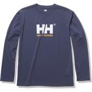 ロングスリーブロゴティー L/S Logo Tee HOE32050 ヘリーブルー(HB) XLサイズ [アウトドア カットソー メンズ]
