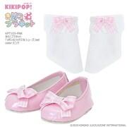 KIKIPOP!用 きのこプラネット リボンなソックス&シューズ セット ピンク [フィギュアアクセサリ]