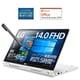 14T90N-VAR51J1 [14.0インチ ノートパソコン/2in1モデル/360度回転ヒンジ/Core i5-10210U/メモリ8GB/SSD256GB/重量1145g/最大約21.5時間駆動/MS Office搭載/Thunderbolt 3対応/内蔵スピーカー/ホワイト]