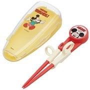 ADXT1S デラックストレーニング箸 ケース付き ディズニー ミッキーマウス
