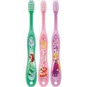 TB5ST 園児用歯ブラシ3P キャップ付 ディズニー プリンセス
