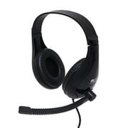 UHP-03/BK [USBヘッドセット スタンダードタイプ]