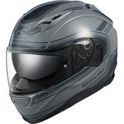 KAMUI 3 CLASSIC [フルフェイスヘルメット グレー XLサイズ 頭周のめやす:61-62cm]